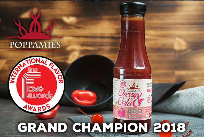 Poppamiehen Cherry & Cola BBQ Sauce on maailman paras!