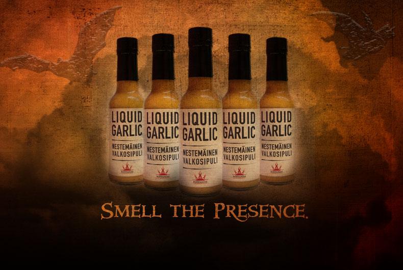 Liquid Garlic - Nestemäinen valkosipuli