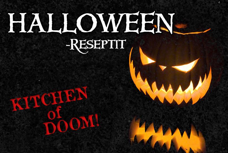 Halloween-reseptit