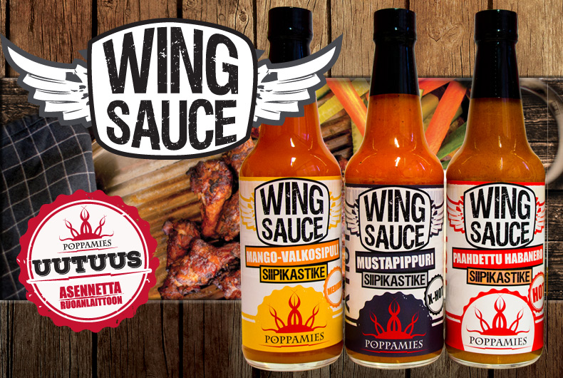 Wing Sauce - Uutuudet!