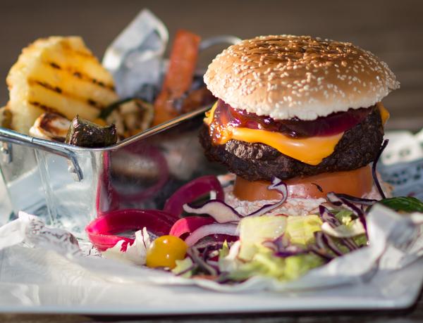 Juicy Lucy -hampurilainen on todella maukas ja mehevä!